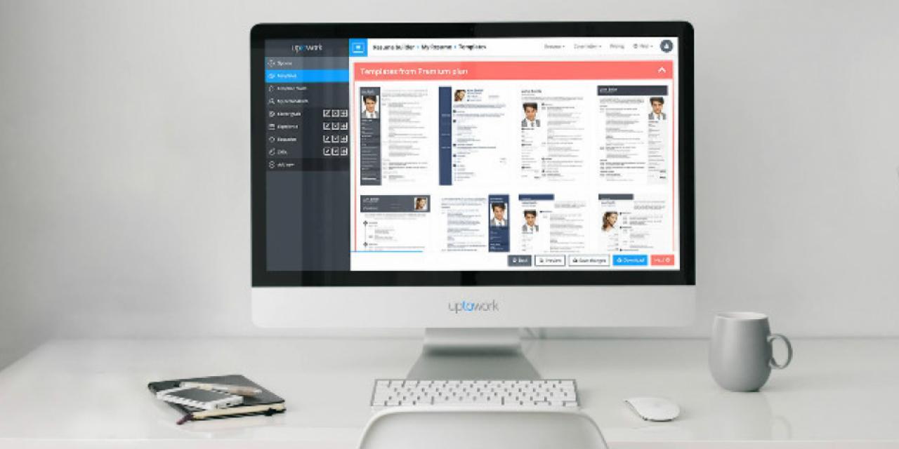 Uptowork, la plataforma donde puedes crear un currículo más ...