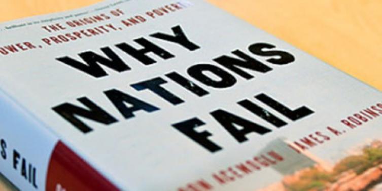 Resultado de imagen para Porqué fracasan los países – James A. Robinson